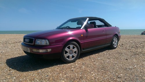 Audi 80 Cabriolet Final Edition 2000/W power hood For Sale (picture 6 of 6)