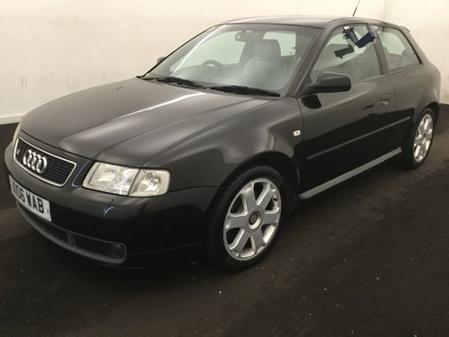 2000 AUDI S3 QUATTRO MK1 TOTALLY STANDARD 2 OWNER FASH  For Sale (picture 2 of 6)