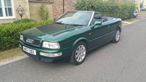 2000 W Audi 80 2.6 Cabriolet For Sale (picture 1 of 6)
