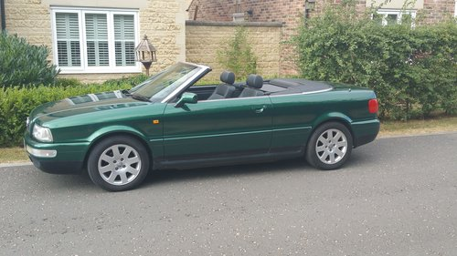 2000 W Audi 80 2.6 Cabriolet For Sale (picture 2 of 6)