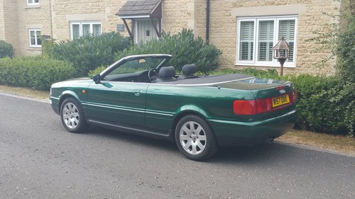 2000 W Audi 80 2.6 Cabriolet SOLD (picture 3 of 6)