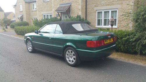 2000 W Audi 80 2.6 Cabriolet For Sale (picture 4 of 6)
