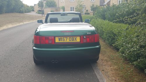 2000 W Audi 80 2.6 Cabriolet For Sale (picture 5 of 6)
