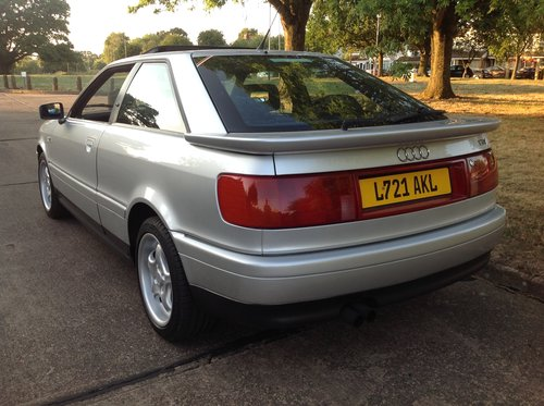 1993 Audi 80 Coupe. 2.0, 16v SOLD | Car And Classic