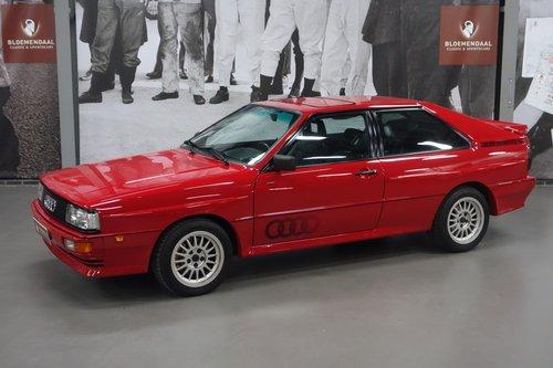 1985 Audi UrQuattro SOLD (picture 1 of 6)