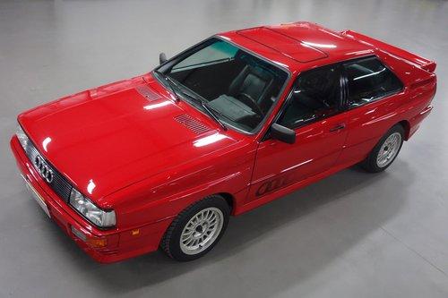 1985 Audi UrQuattro SOLD (picture 6 of 6)