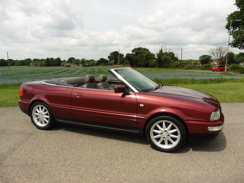 1998 Audi Cabriolet 2.8 Final Edition Auto For Sale (picture 1 of 2)