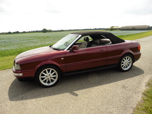 1998 Audi Cabriolet 2.8 Final Edition Auto For Sale (picture 2 of 2)