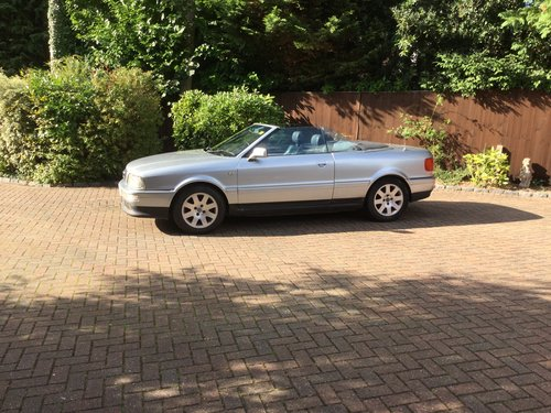 1996 Audi Cabriolet For Sale (picture 2 of 6)