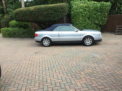 1996 Audi Cabriolet For Sale (picture 3 of 6)