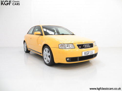 1999 An Exhilarating Audi S3 Quattro with 52,693 Miles SOLD (picture 1 of 6)