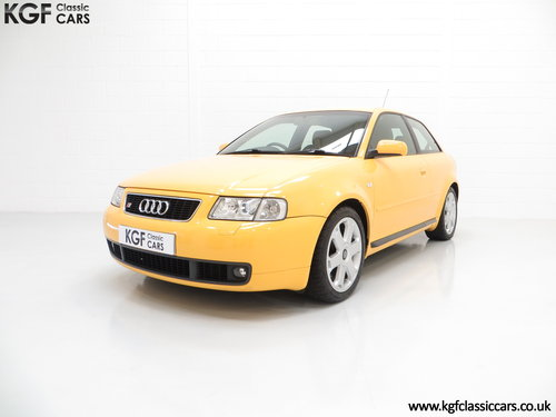1999 An Exhilarating Audi S3 Quattro with 52,693 Miles SOLD (picture 2 of 6)