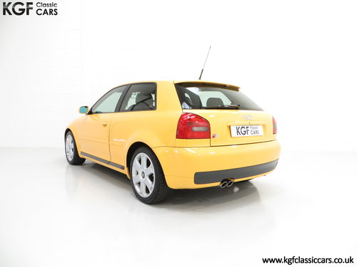 1999 An Exhilarating Audi S3 Quattro with 52,693 Miles SOLD (picture 4 of 6)