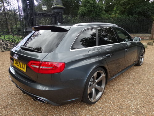 2012 62 AUDI RS4 4.2 QUATTRO WITH SPORTS PACK For Sale (picture 6 of 6)