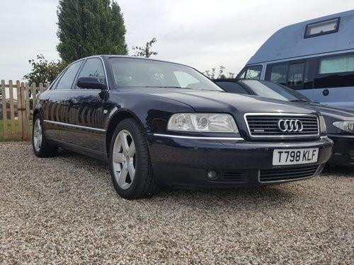 Audi A8 4.2 quattro 1999 For Sale (picture 1 of 6)