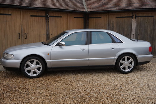 1997 AUDI S8 D2 2 OWNERS 74K FULL HISTORY For Sale (picture 1 of 6)
