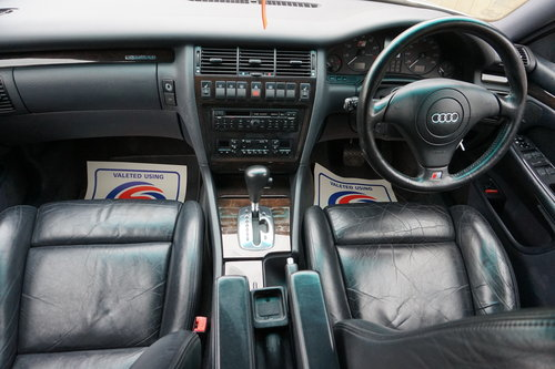 1997 AUDI S8 D2 2 OWNERS 74K FULL HISTORY For Sale (picture 2 of 6)