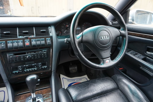 1997 AUDI S8 D2 2 OWNERS 74K FULL HISTORY For Sale (picture 3 of 6)