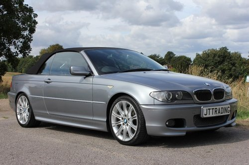 2004 BMW 330CI 3.0 M-Sport 2dr Coupe 6 Speed Manuel Convertible  SOLD (picture 1 of 6)