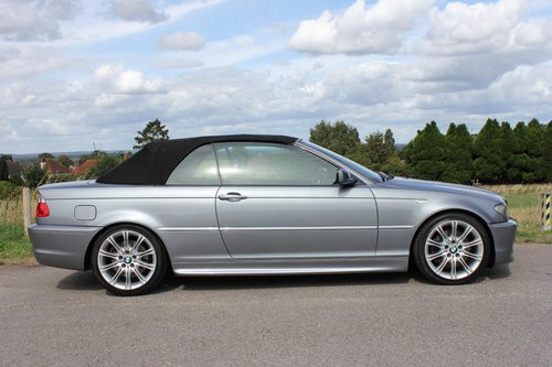 2004 BMW 330CI 3.0 M-Sport 2dr Coupe 6 Speed Manuel Convertible  SOLD (picture 2 of 6)