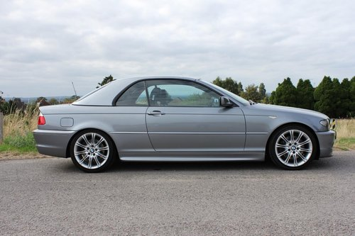 2004 BMW 330CI 3.0 M-Sport 2dr Coupe 6 Speed Manuel Convertible  SOLD (picture 3 of 6)