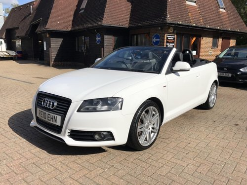 2010 (10) Audi A3 2.0 TDi S-line Cabriolet SOLD (picture 2 of 6)