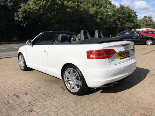 2010 (10) Audi A3 2.0 TDi S-line Cabriolet SOLD (picture 4 of 6)