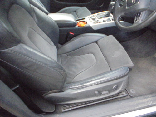 2008 A/5 AUDI 3 LTR AUTO DIESEL COUPE IN METALLIC  GREEN  F.S.H  For Sale (picture 4 of 6)