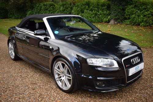 2007 AUDI RS4 Cabriolet with full AUDI service history! SOLD (picture 1 of 6)