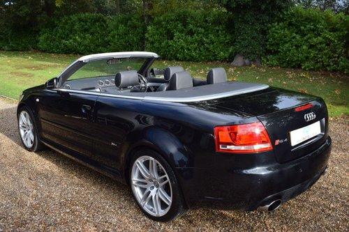 2007 AUDI RS4 Cabriolet with full AUDI service history! SOLD (picture 2 of 6)