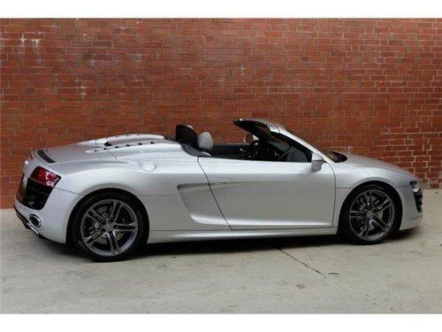 2010 Audi R8 V10 Spyder  For Sale (picture 1 of 5)