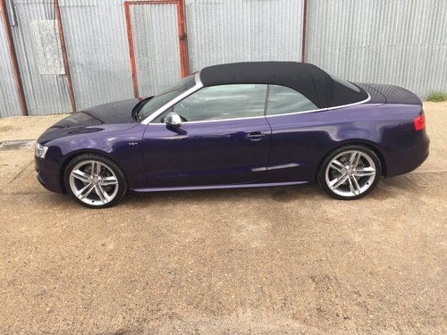 2013 Stunning Audi S5 Cabriolet 3.0 TFSI For Sale (picture 2 of 6)