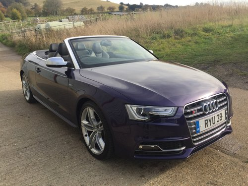 2013 Stunning Audi S5 Cabriolet 3.0 TFSI For Sale (picture 3 of 6)