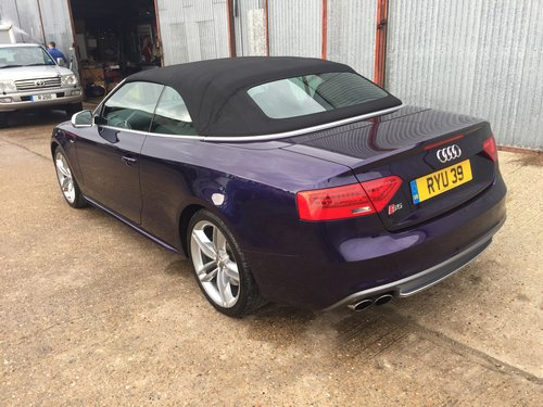 2013 Stunning Audi S5 Cabriolet 3.0 TFSI For Sale (picture 4 of 6)