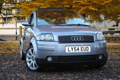 Audi A2 2005 1.6 FSi Sport rare high spec Ex. demo For Sale (picture 1 of 6)