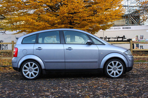 Audi A2 2005 1.6 FSi Sport rare high spec Ex. demo For Sale (picture 3 of 6)