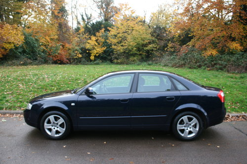 Audi A4 1.9 TDi SE.. 130 BHP.. 6-Speed.. Low Miles & FSH SOLD (picture 1 of 6)