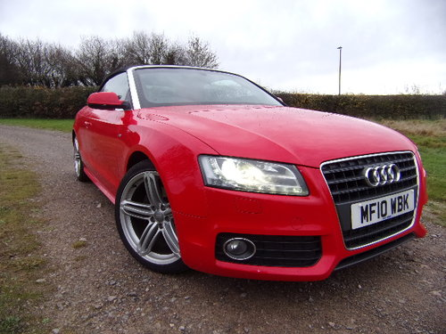 2010 Audi A5 S Line TFSi For Sale (picture 1 of 6)