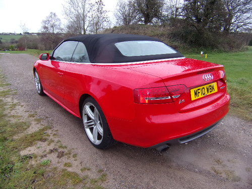 2010 Audi A5 S Line TFSi For Sale (picture 2 of 6)