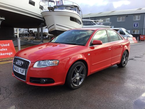 2005 AUDI A4 S-LINE QUATTRO 3.2 MANUAL 6 SPEED SOLD (picture 1 of 6)