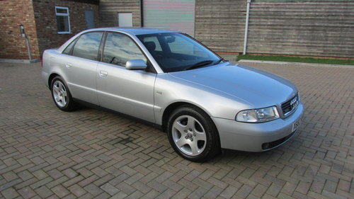 2000 Audi A4 2.8 Quattro Sport Tiptronic For Sale (picture 1 of 6)