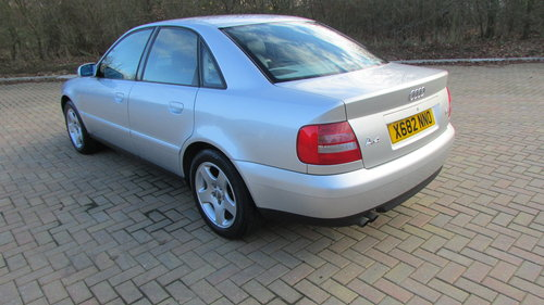2000 Audi A4 2.8 Quattro Sport Tiptronic For Sale (picture 3 of 6)