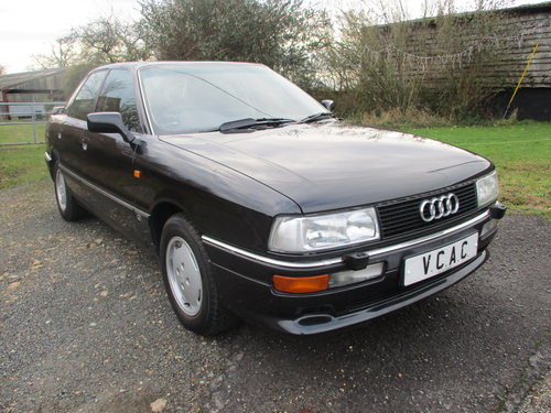 Audi 90 2.3E Saloon Automatic 1990 Very Low miles For Sale (picture 1 of 6)