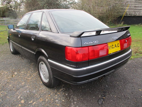 Audi 90 2.3E Saloon Automatic 1990 Very Low miles For Sale (picture 2 of 6)