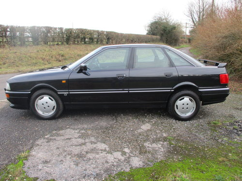 Audi 90 2.3E Saloon Automatic 1990 Very Low miles For Sale (picture 3 of 6)