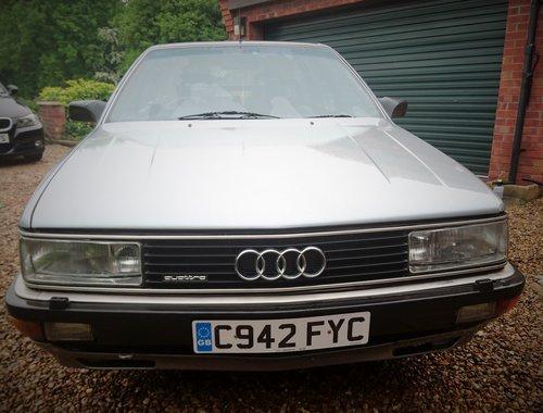 1986 Rare 200 Avant quattro turbo.ex John Haynes OBE For Sale (picture 6 of 6)