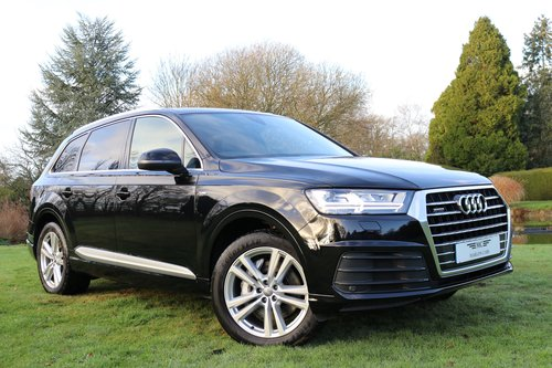 2018 AUDI Q7 TDI QUATTRO S LINE For Sale (picture 1 of 6)