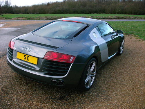 2007 Audi R8 4.2 V8 quattro Coupe with 6 speed manual gearbox For Sale (picture 2 of 6)