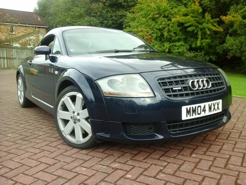 2004 Audi TT Coupe Quattro at Morris Leslie Classic Sale 25th May For Sale by Auction (picture 1 of 6)