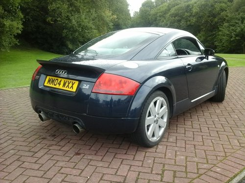2004 Audi TT Coupe Quattro at Morris Leslie Classic Sale 25th May For Sale by Auction (picture 2 of 6)
